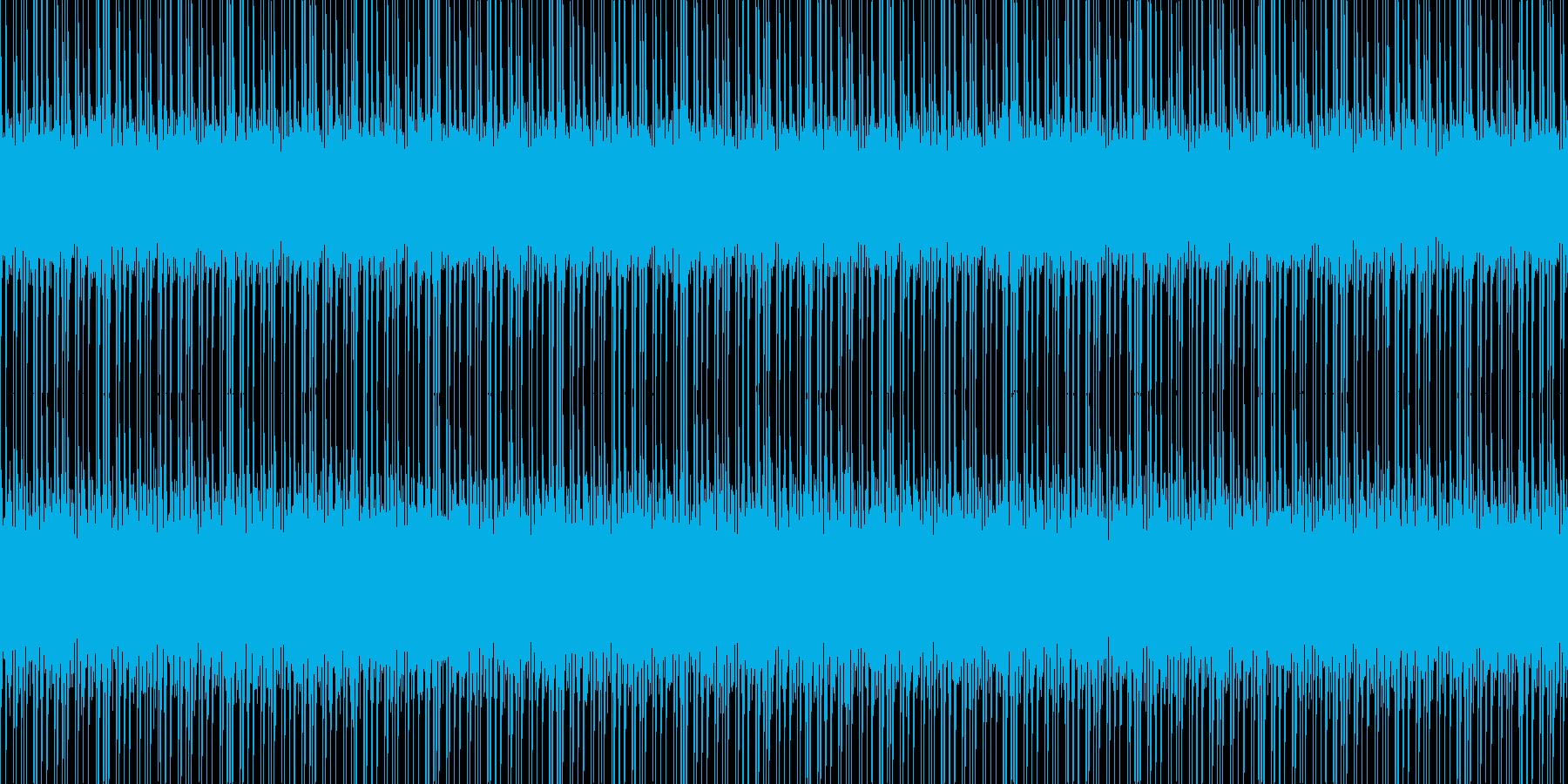 サイバーシティの再生済みの波形