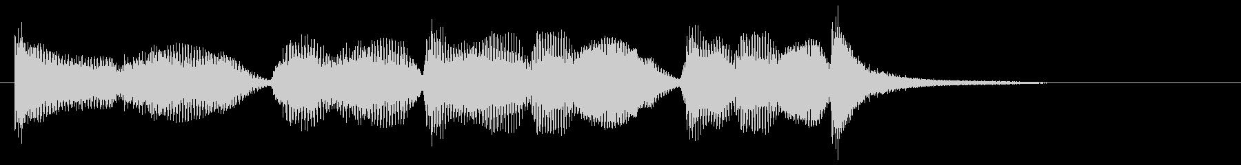 スリルあるリアルオーケストラジングル。…の未再生の波形
