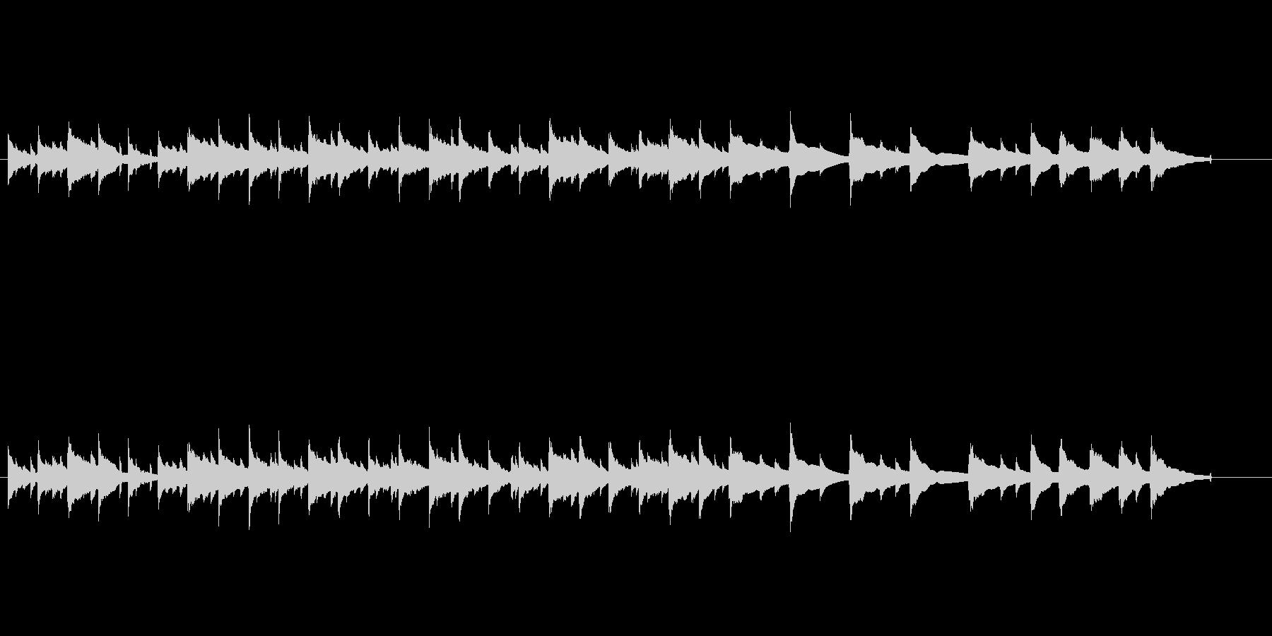 のどかな曲で生ウクレレアルペジオが印象的の未再生の波形