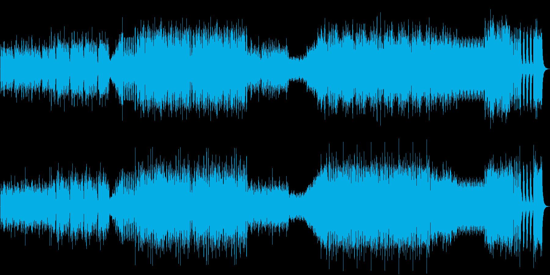 運動会の曲「天国と地獄」(序奏なし)の再生済みの波形