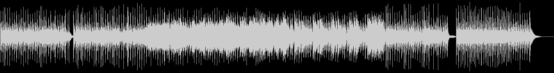 ピアノによるヒーリングミュージックの未再生の波形