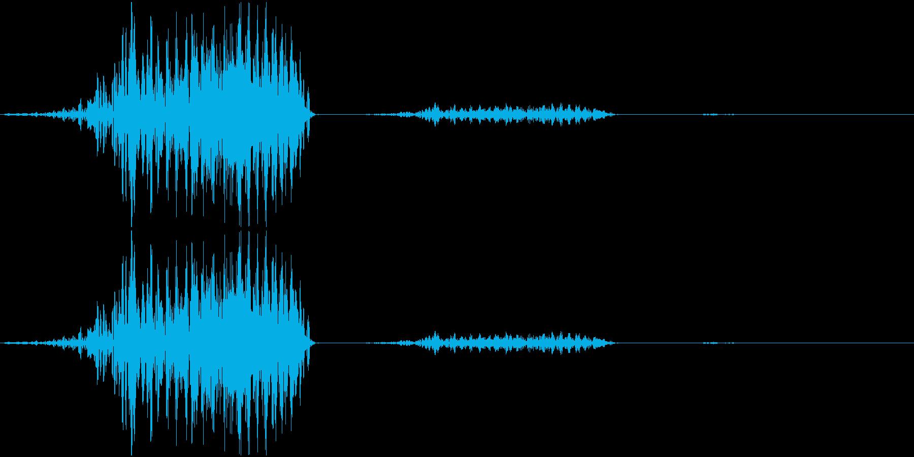 獣や妖怪のイメージで作りました。の再生済みの波形