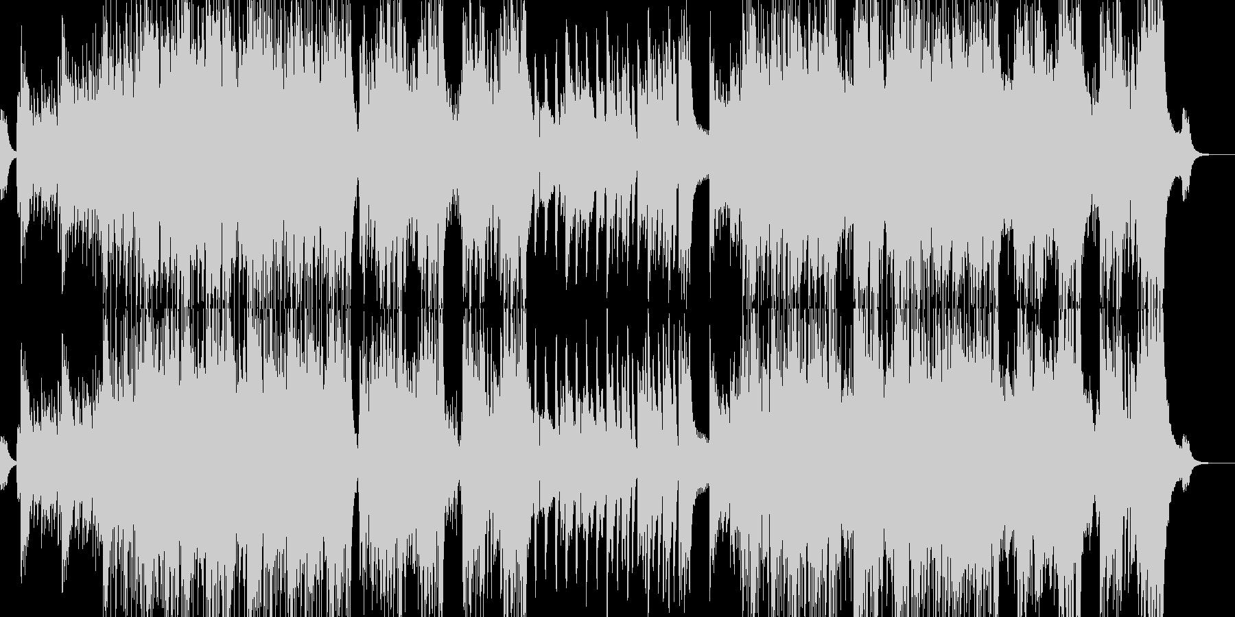不可思議と螺旋渦巻くイメージの未再生の波形