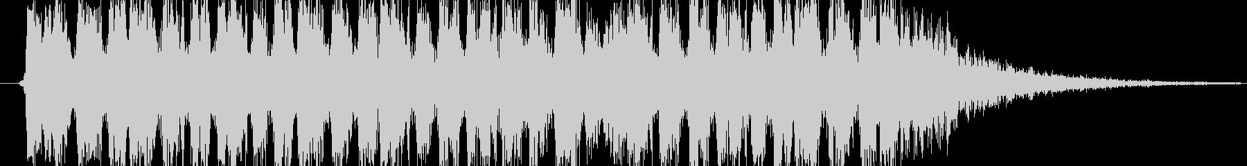 サブマシンガン発砲音の未再生の波形