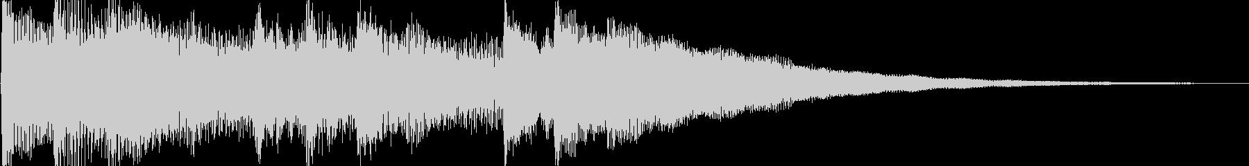 ピアノ音(ゲーム、アプリ、場面転換)の未再生の波形