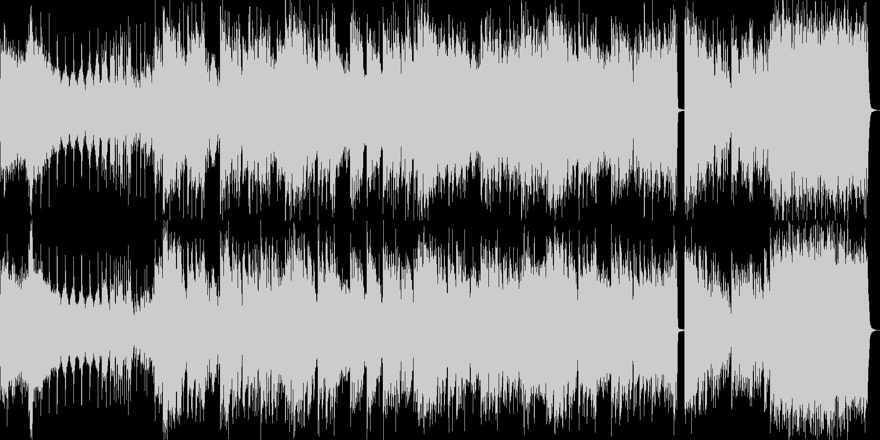 50秒の和風×エレクトロインストの未再生の波形