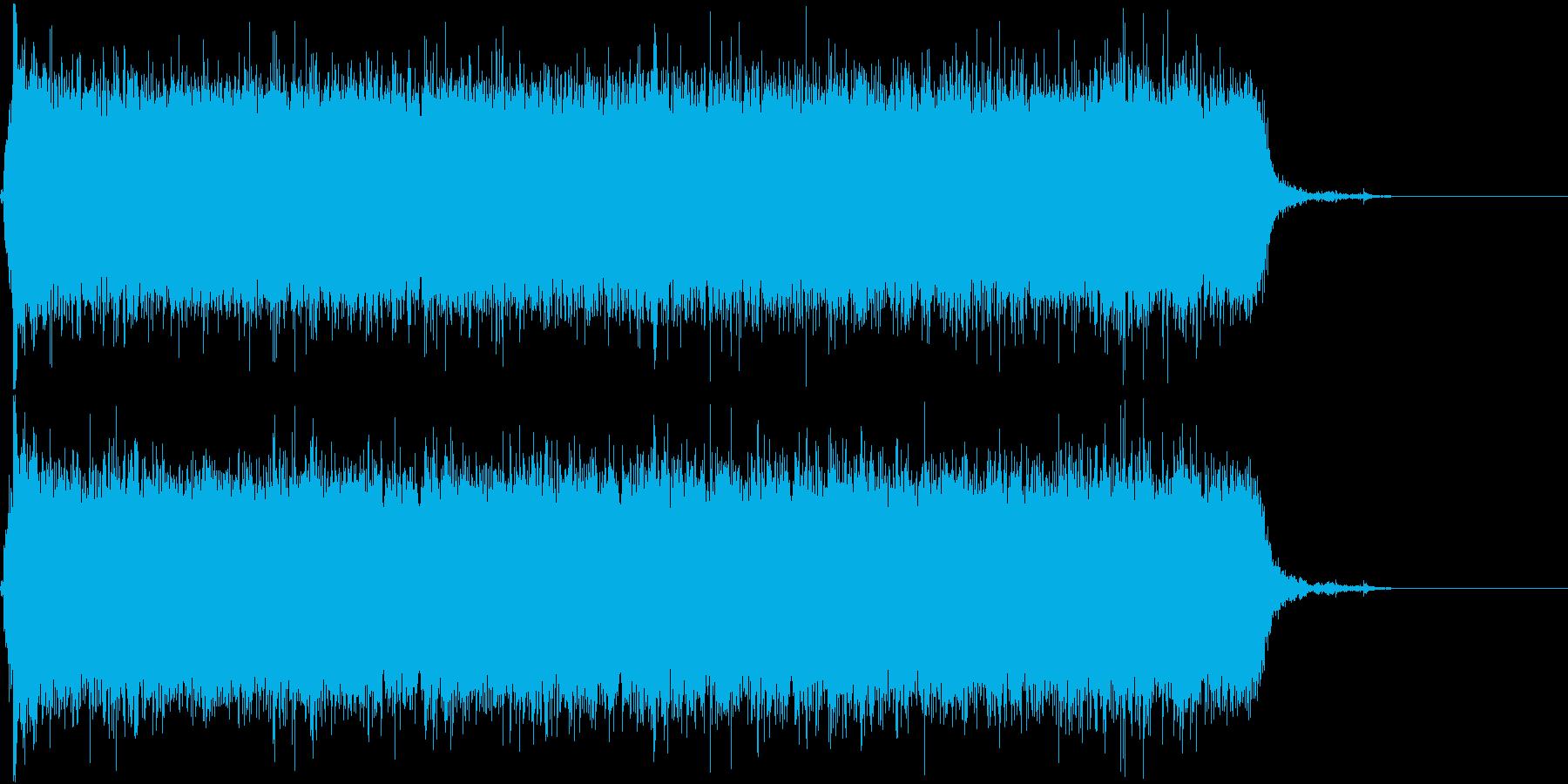 ジャー☆蛇口から水が流れる音 その1の再生済みの波形