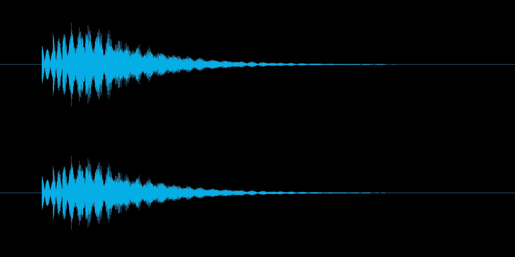 シャララァーンの再生済みの波形