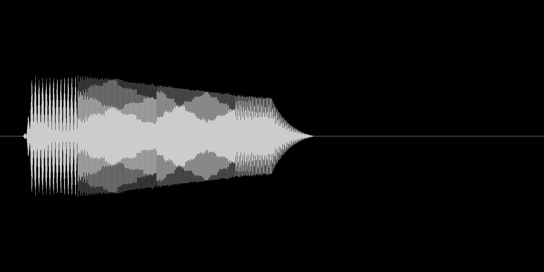 ファミコン風効果音決定音系です 12の未再生の波形