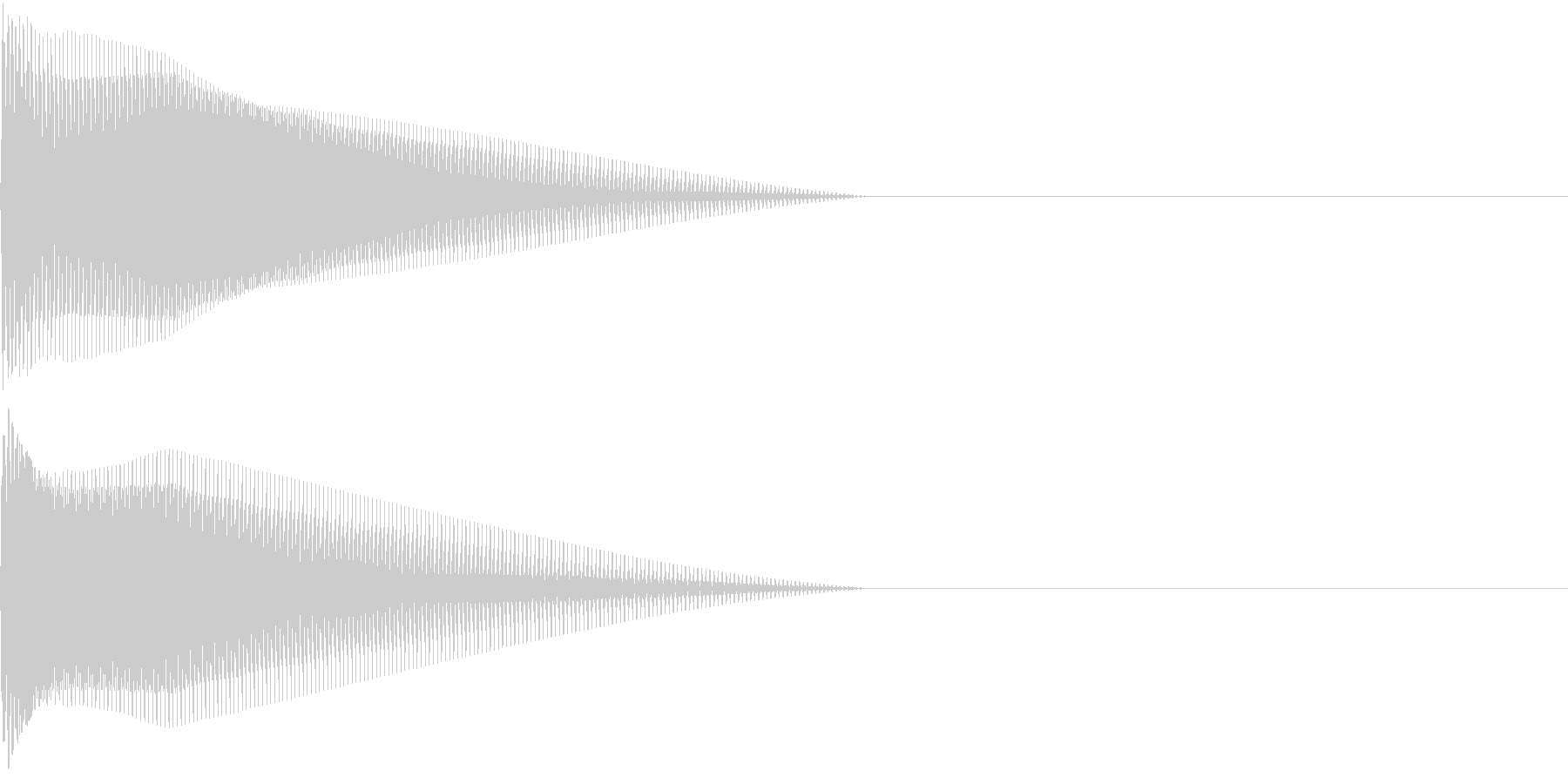 Push 汎用決定・セレクト音 2の未再生の波形