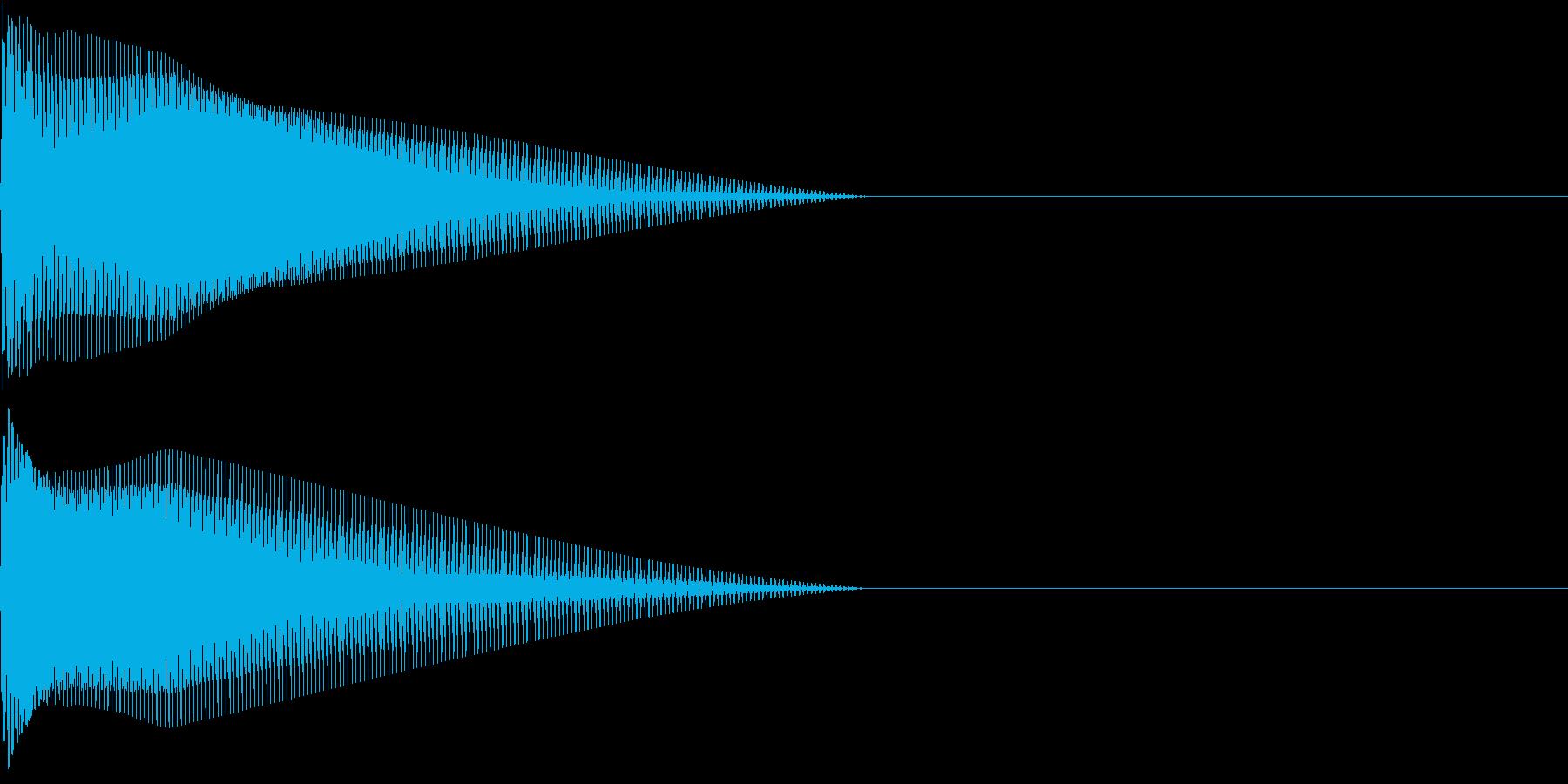 Push 汎用決定・セレクト音 2の再生済みの波形