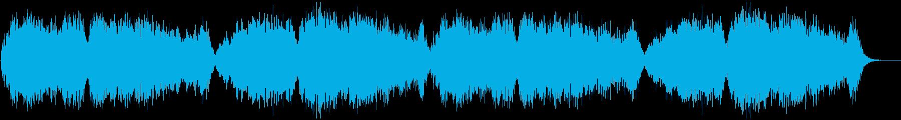 ゲームCGムービーに合う悲しいエルフの歌の再生済みの波形