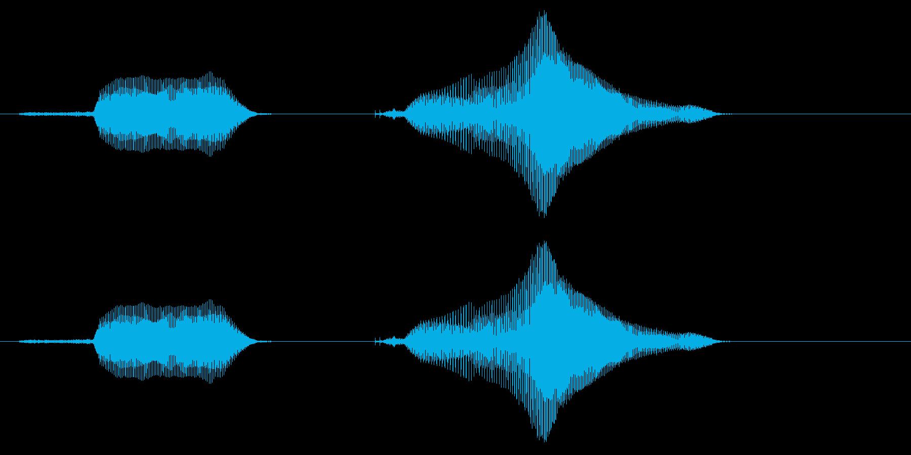 スイッチオン♪の再生済みの波形