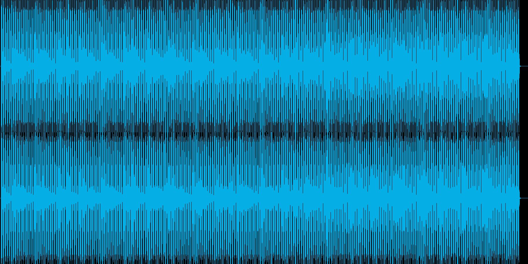 アニメや映像系に合うテクノの再生済みの波形
