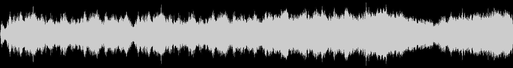 荒廃した村のストリングスBGM ロング版の未再生の波形