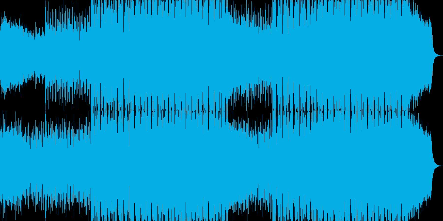 EDMクラブ系ダンスミュージック-76の再生済みの波形