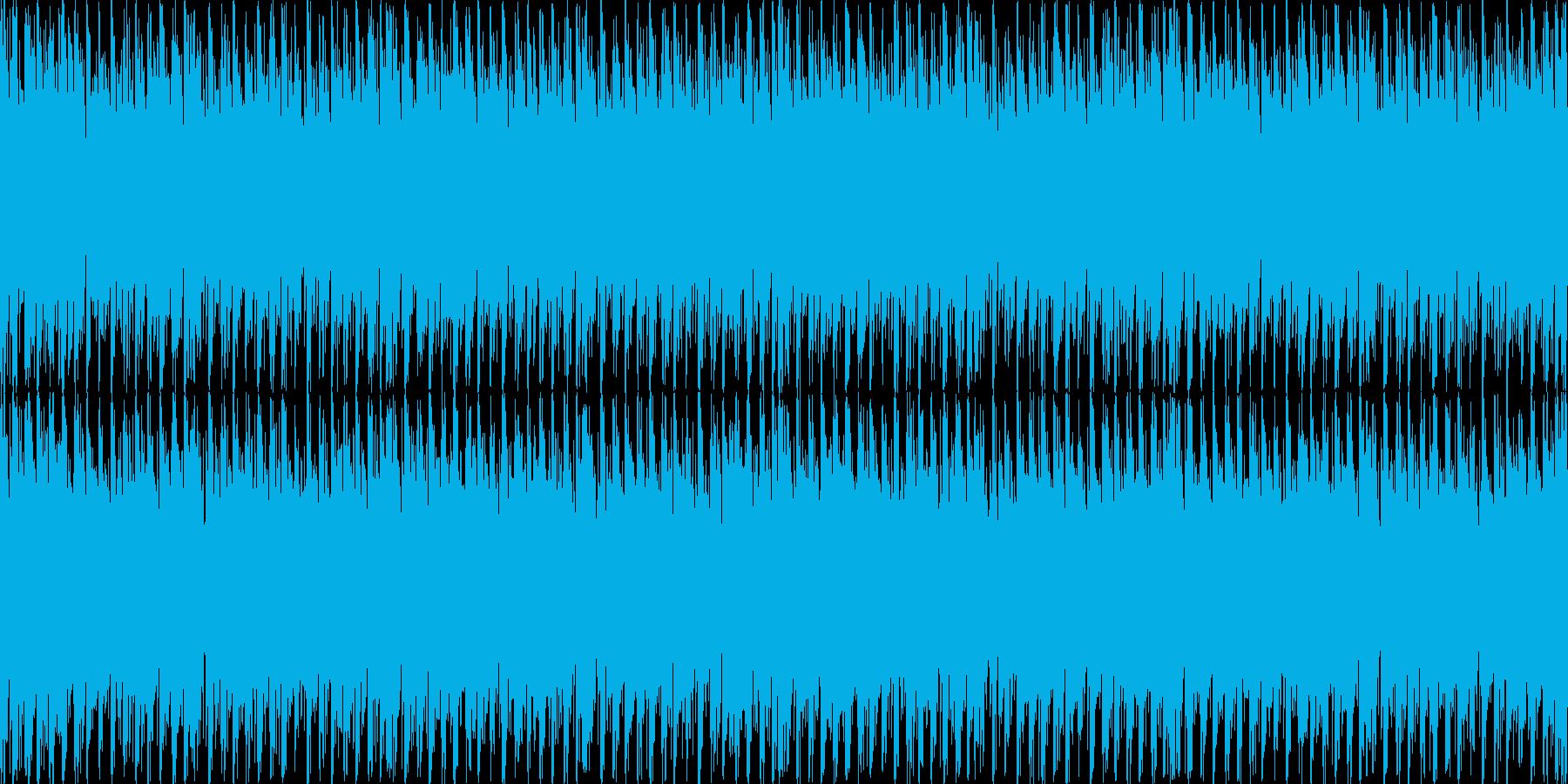 スタイリッシュで不穏な曲 ループ処理2の再生済みの波形