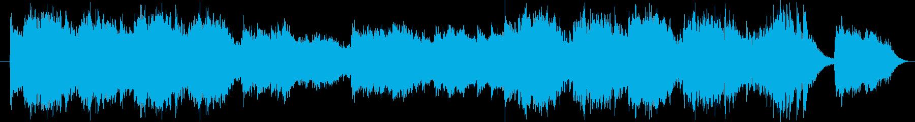 トレーラーとして使える幻想的オーケストラの再生済みの波形