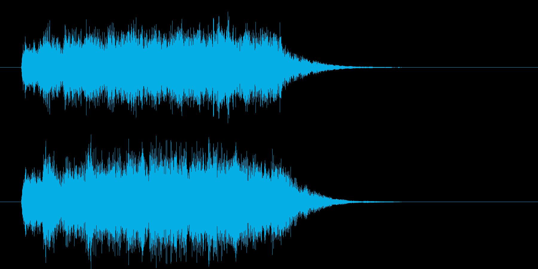 オーケストラのジングル 勝利!の再生済みの波形