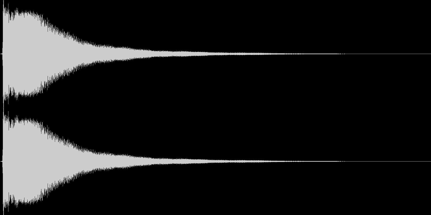 かーんの未再生の波形