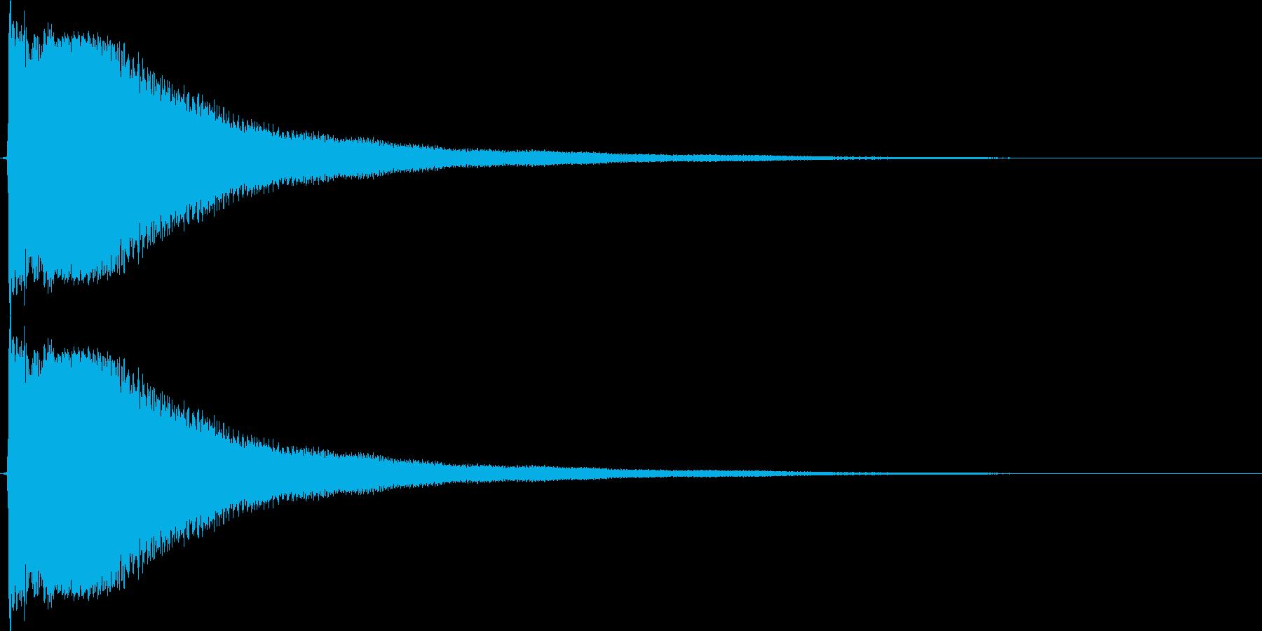 かーんの再生済みの波形