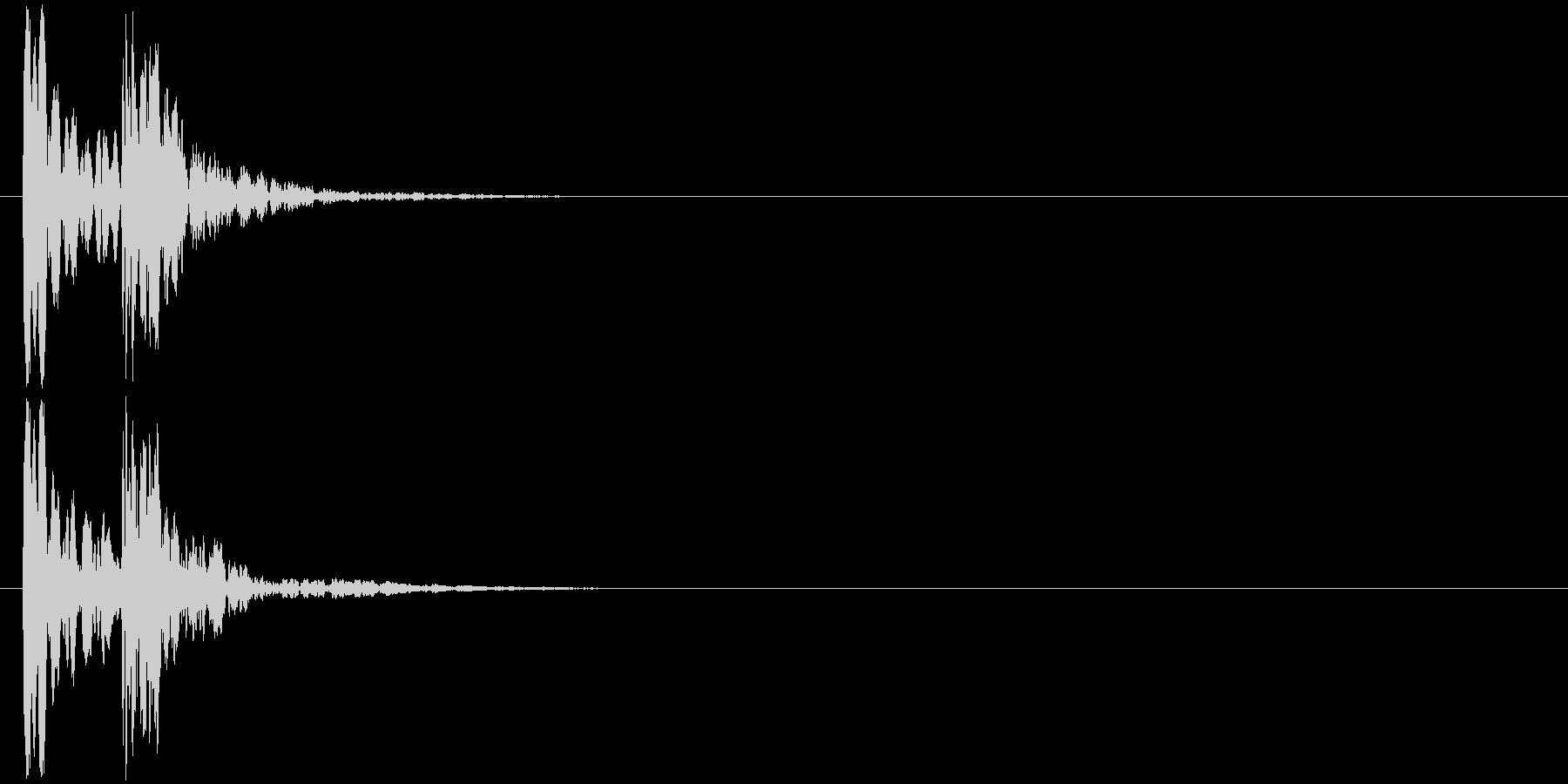 汎用04 コケッ ポカッ(ずっこけ)の未再生の波形