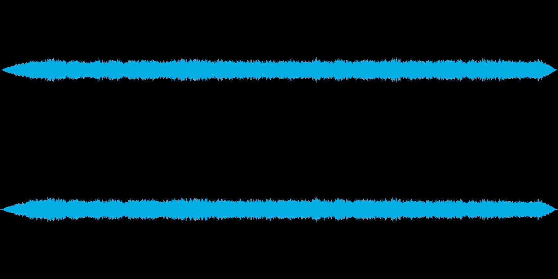 汚染地区や妨害電波をイメージした音の再生済みの波形