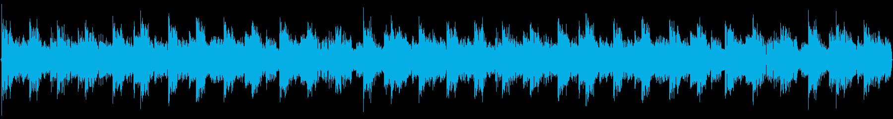 ハウス系のドラムを強調した楽曲です。の再生済みの波形