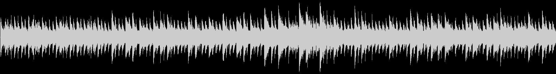 8bit ファンタジー系のループBGMの未再生の波形