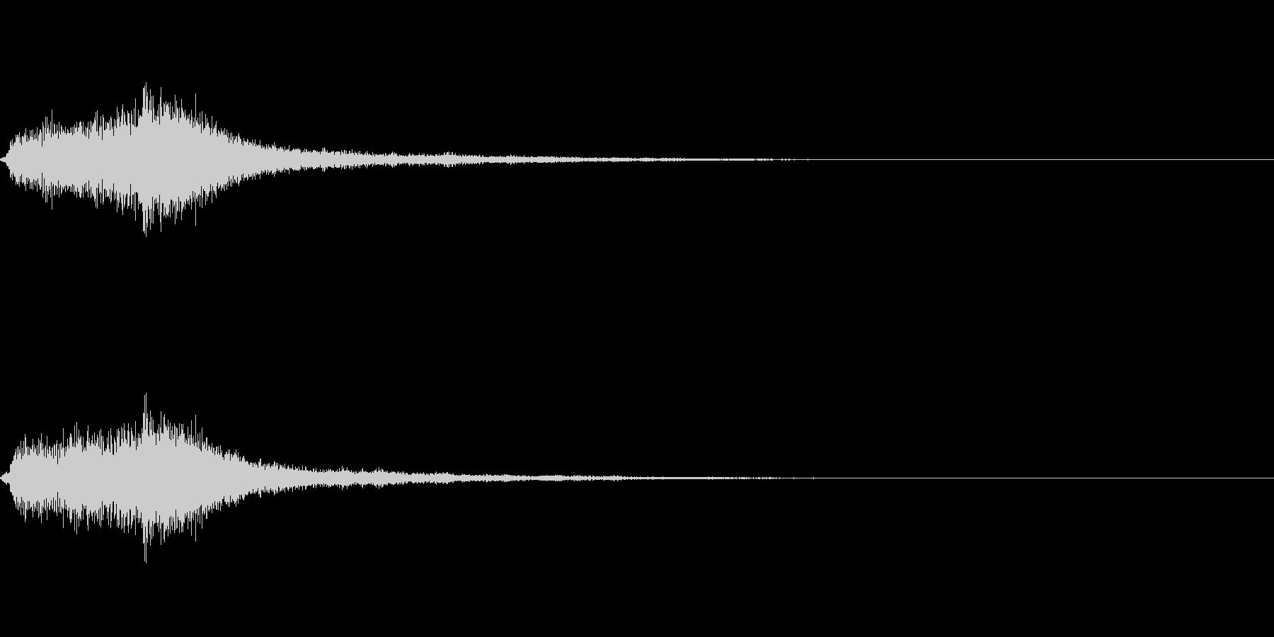 [ピシュイーン]パラメータUP(爽やか)の未再生の波形