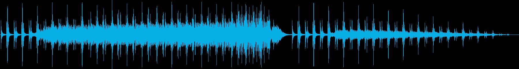 お正月などに使える和風BGMです。の再生済みの波形