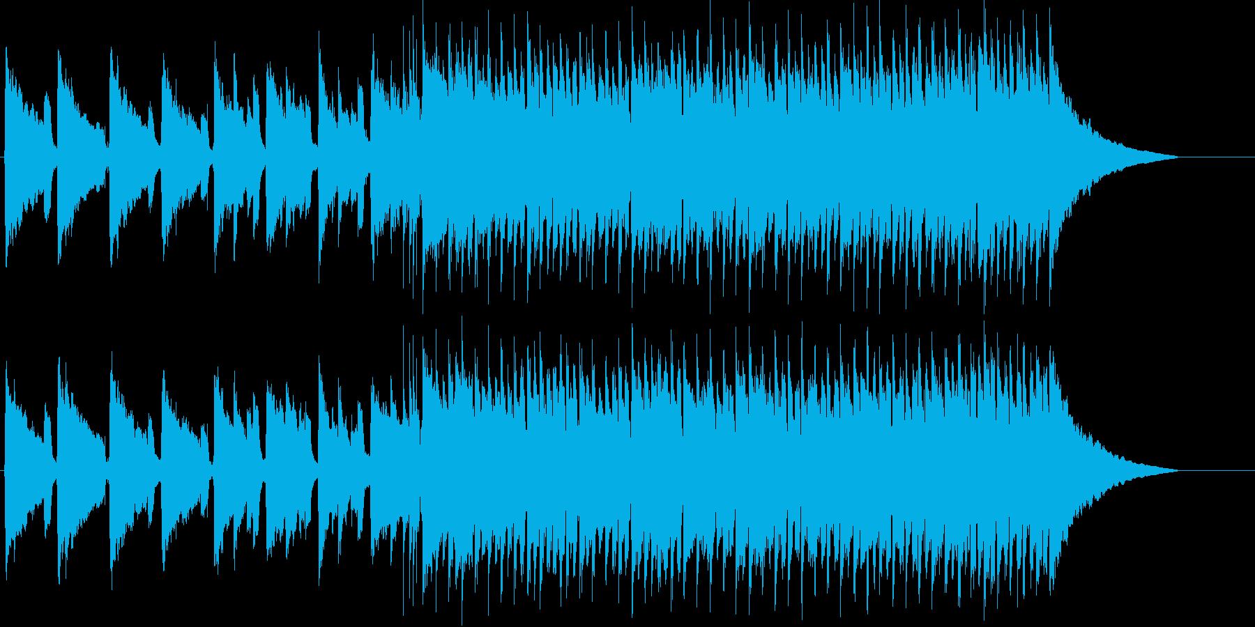 前向きになるさわやかロックの再生済みの波形