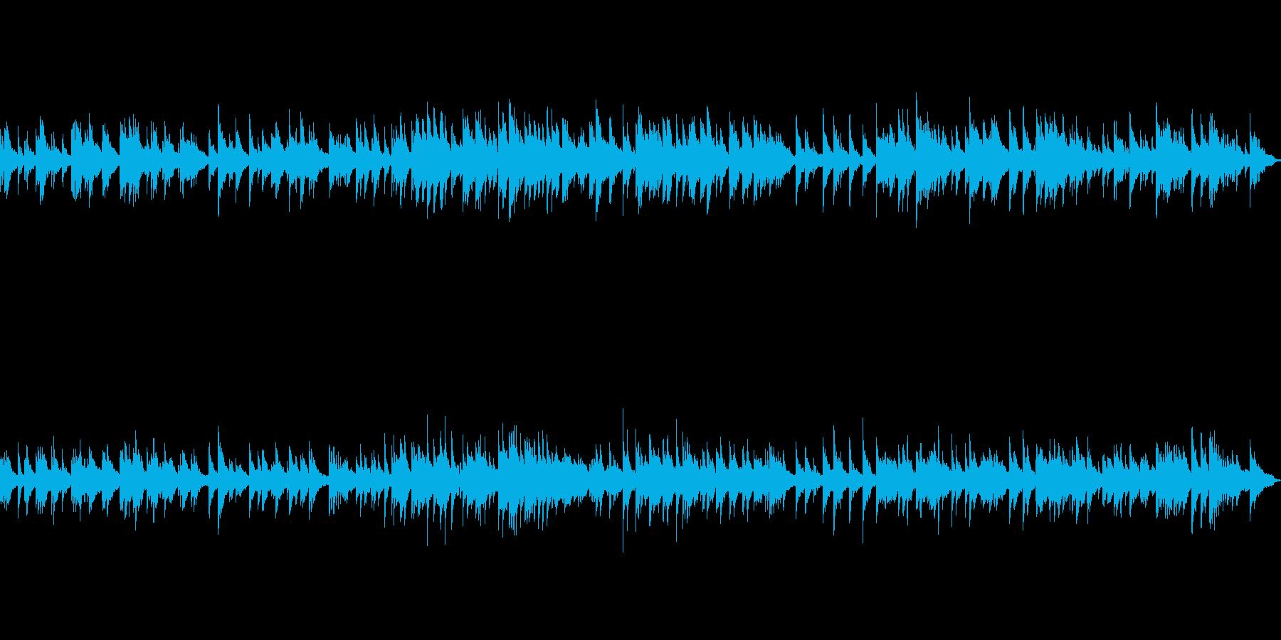 世界観のあるファンタジーゲームのBGMにの再生済みの波形