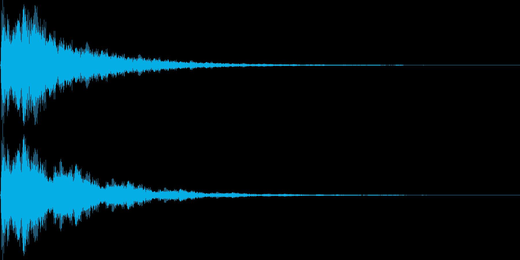ぼよ〜ん (バネの音)の再生済みの波形