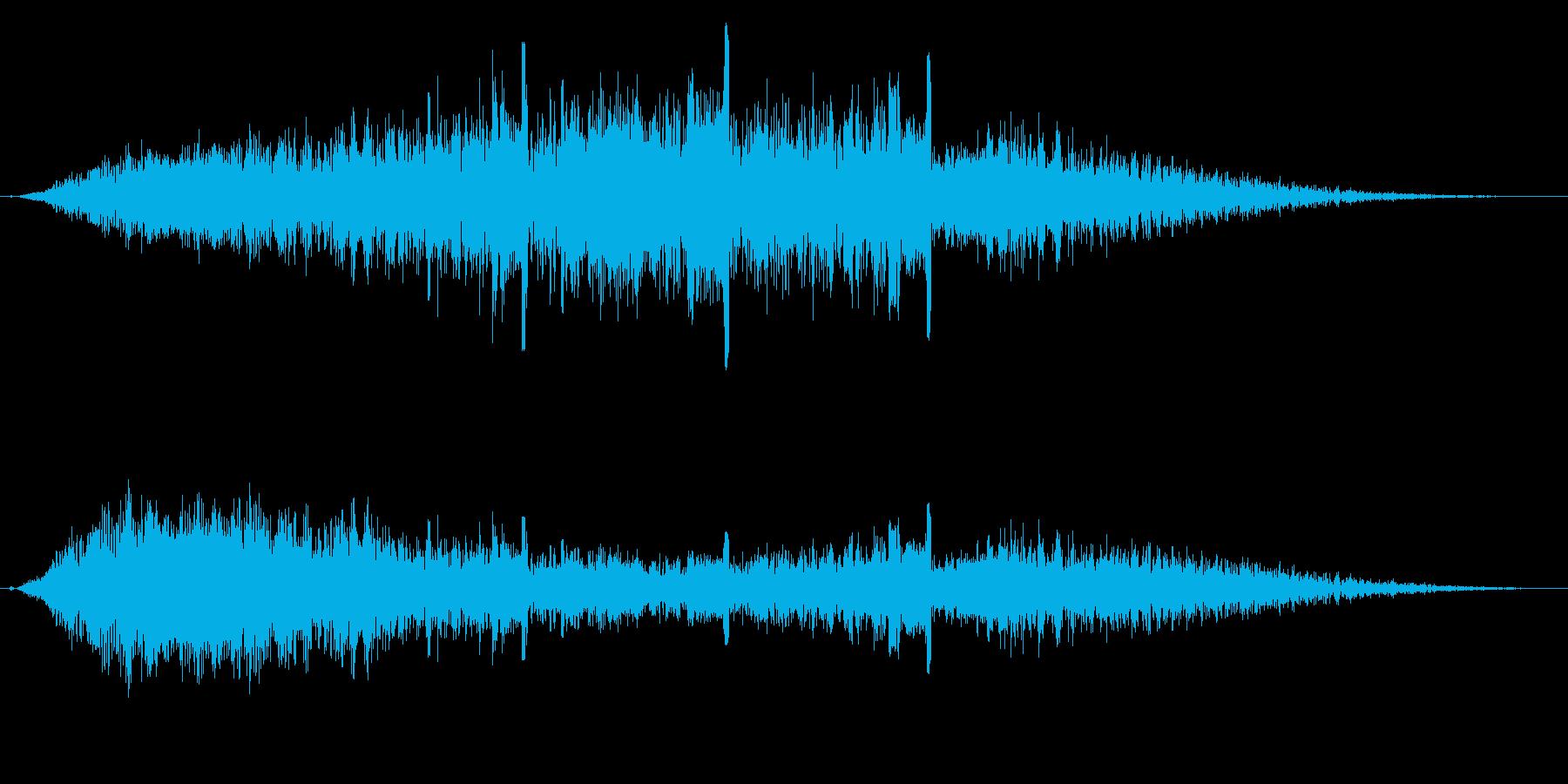 【F1】ド迫力のF1エンジン効果音10!の再生済みの波形