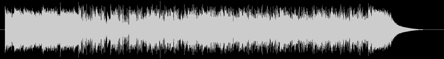 ファンキー&ファンタジックシンセサウンドの未再生の波形