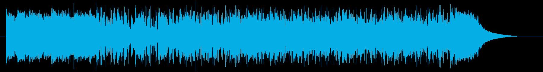 ファンキー&ファンタジックシンセサウンドの再生済みの波形