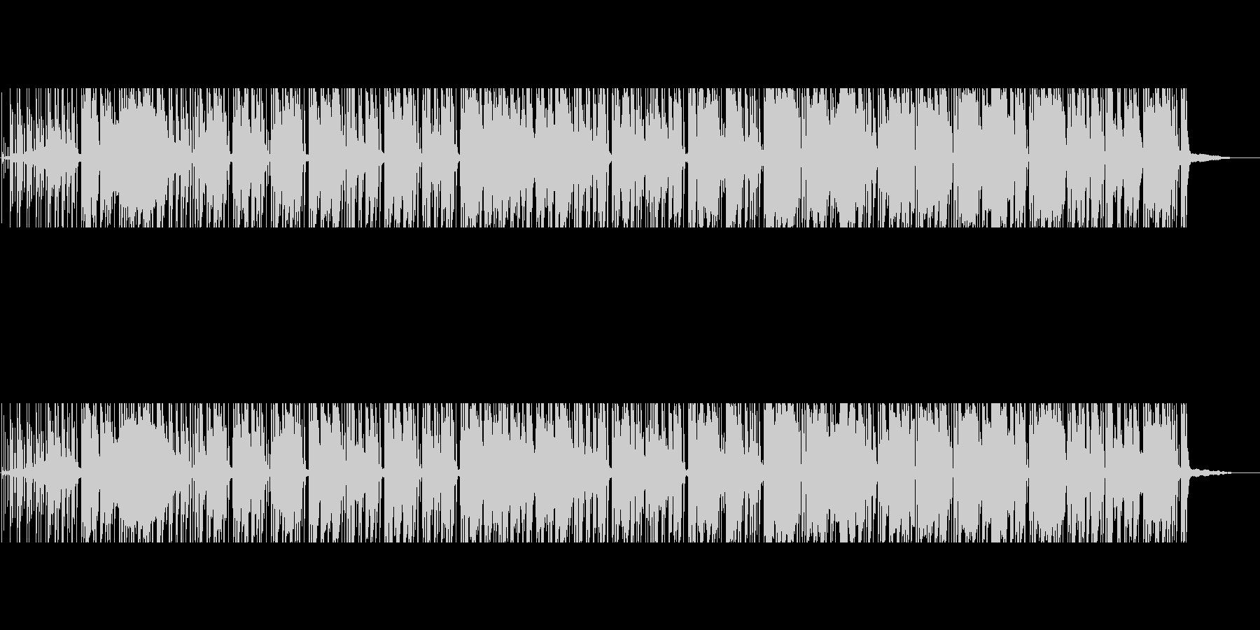 シブい 捜査 試行錯誤 熟考のサックス曲の未再生の波形