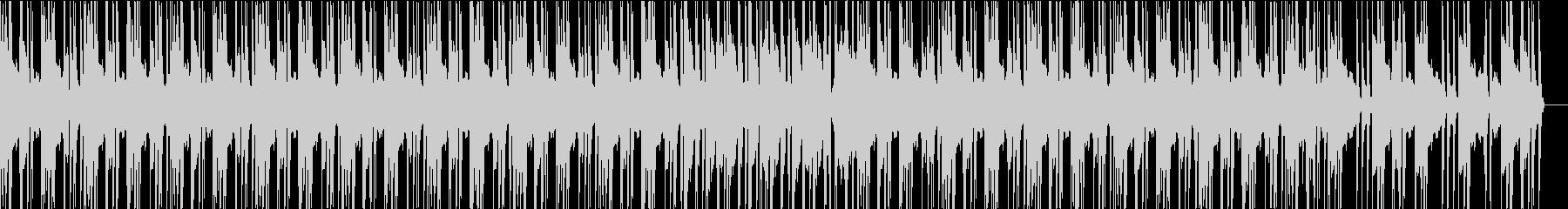 ヒップホップでジャジーなBGMの未再生の波形