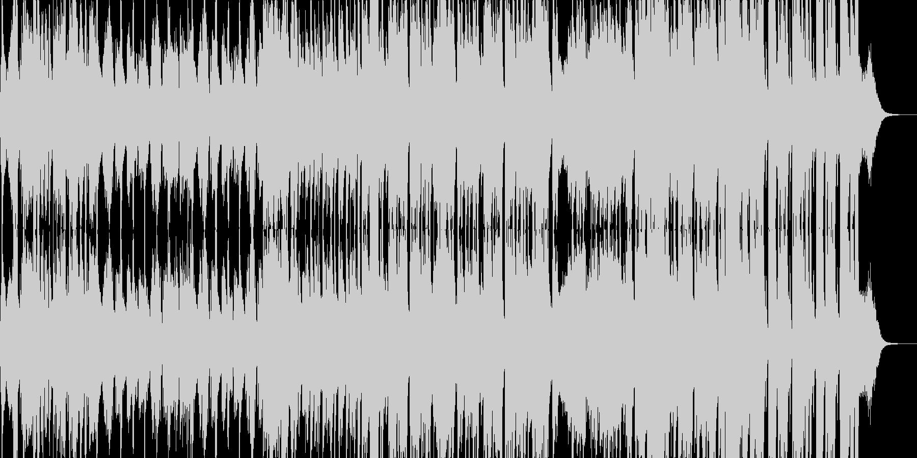 ジャズ・おしゃれ・バー・カフェの未再生の波形