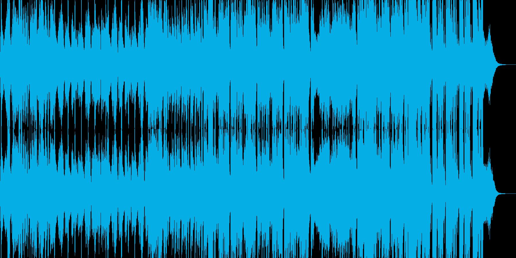 ジャズ・おしゃれ・バー・カフェの再生済みの波形