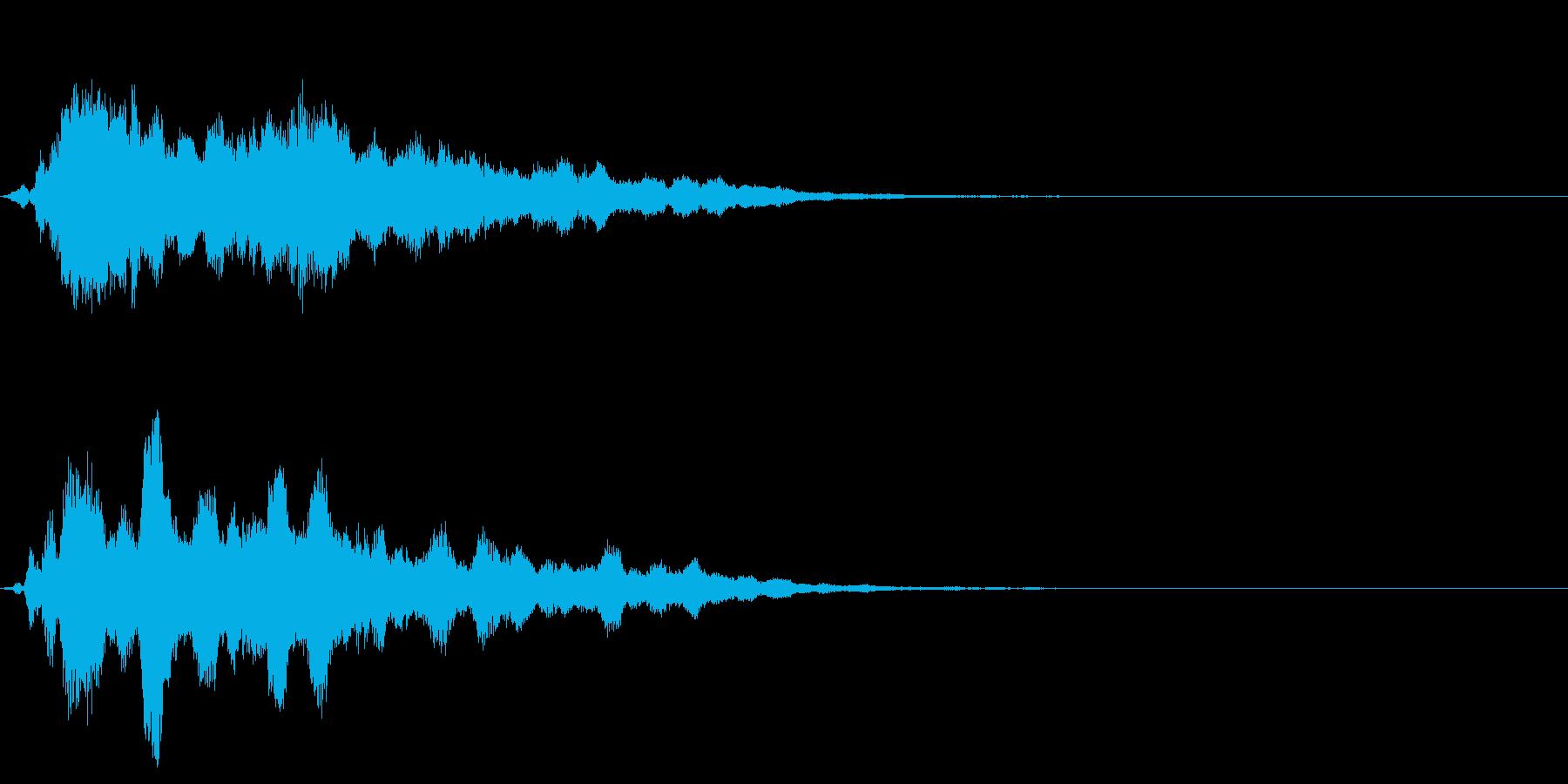 魔法11(回復・光・防御・補助系)の再生済みの波形
