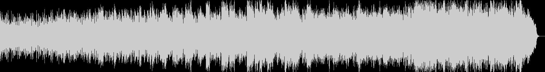 優しさに包まれる感動ピアノ4高音弦抜きの未再生の波形