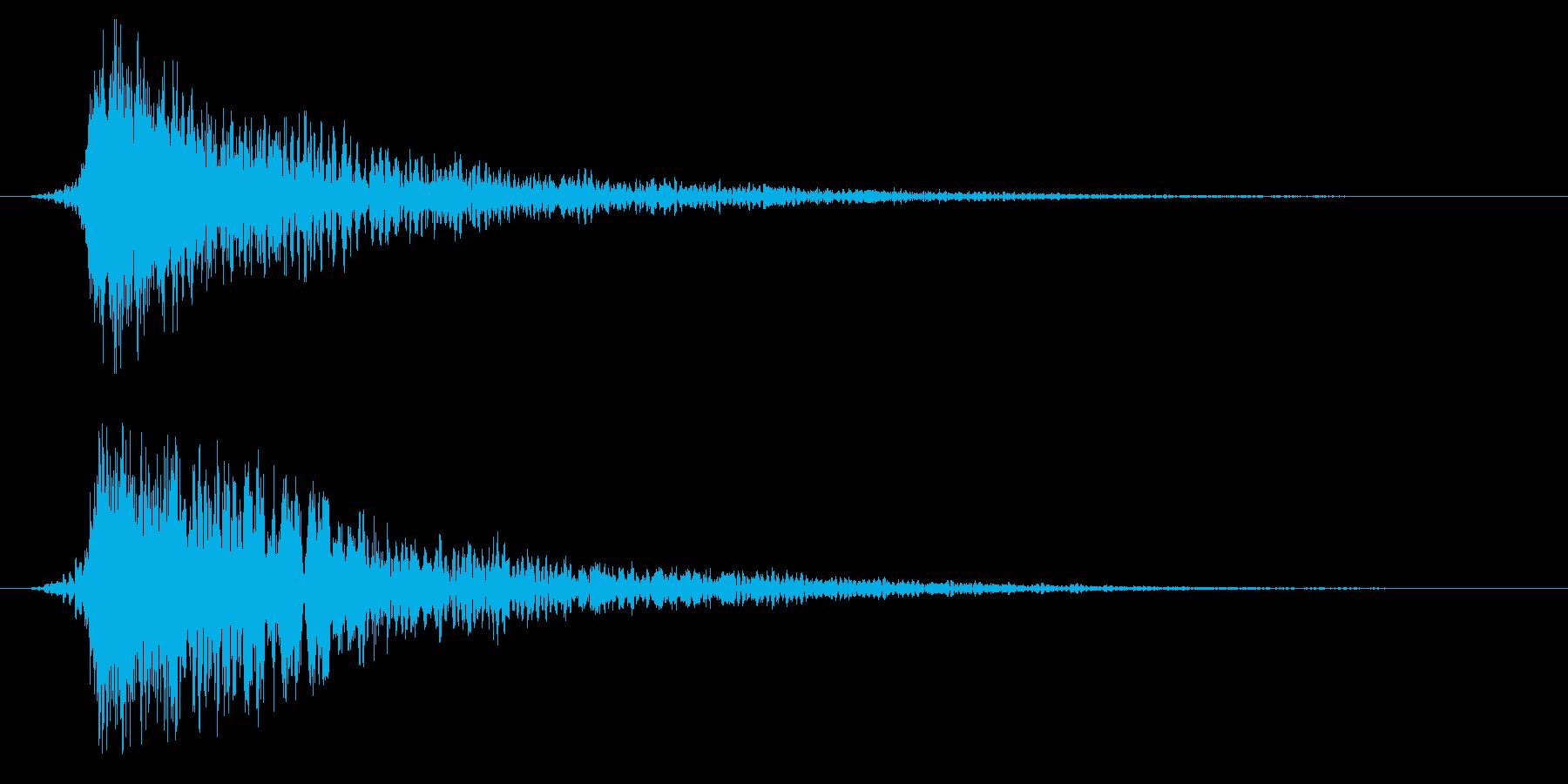シネマティック ヒット インパクト11bの再生済みの波形