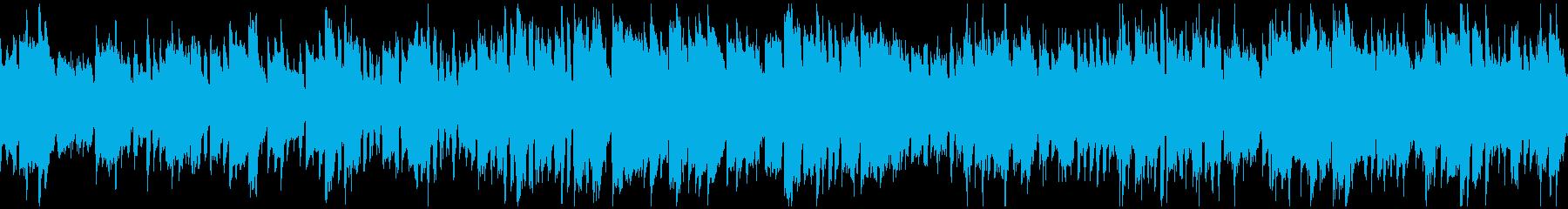 ほのぼのRPGの村(ファンタジー)ループの再生済みの波形
