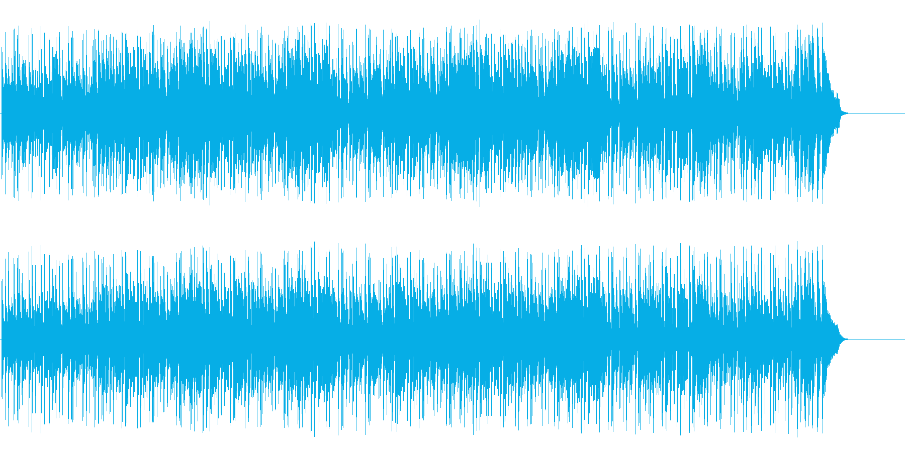 涼しげなポップ/フュージョンの再生済みの波形