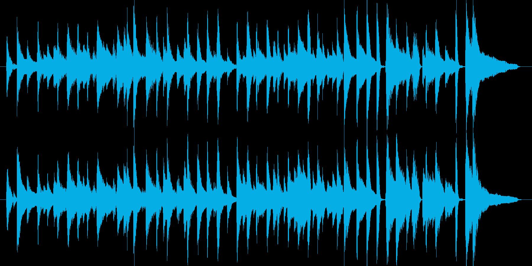 ちょっとおしゃれな短めのジャズチューン…の再生済みの波形