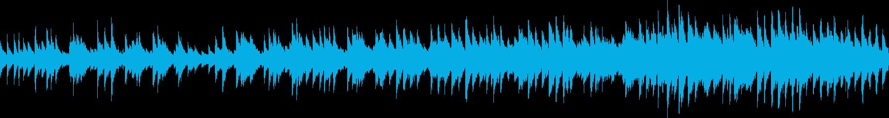 シャッフルカントリーバラード(ループ)の再生済みの波形