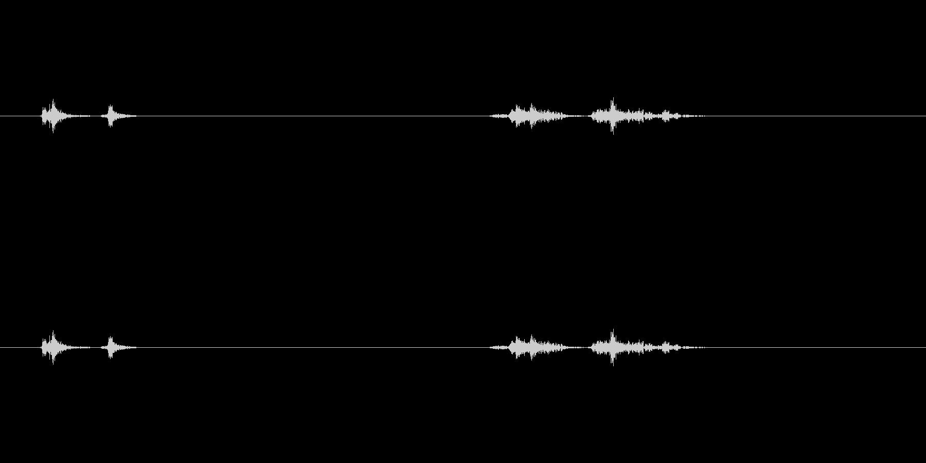 【プリンター01-off】の未再生の波形