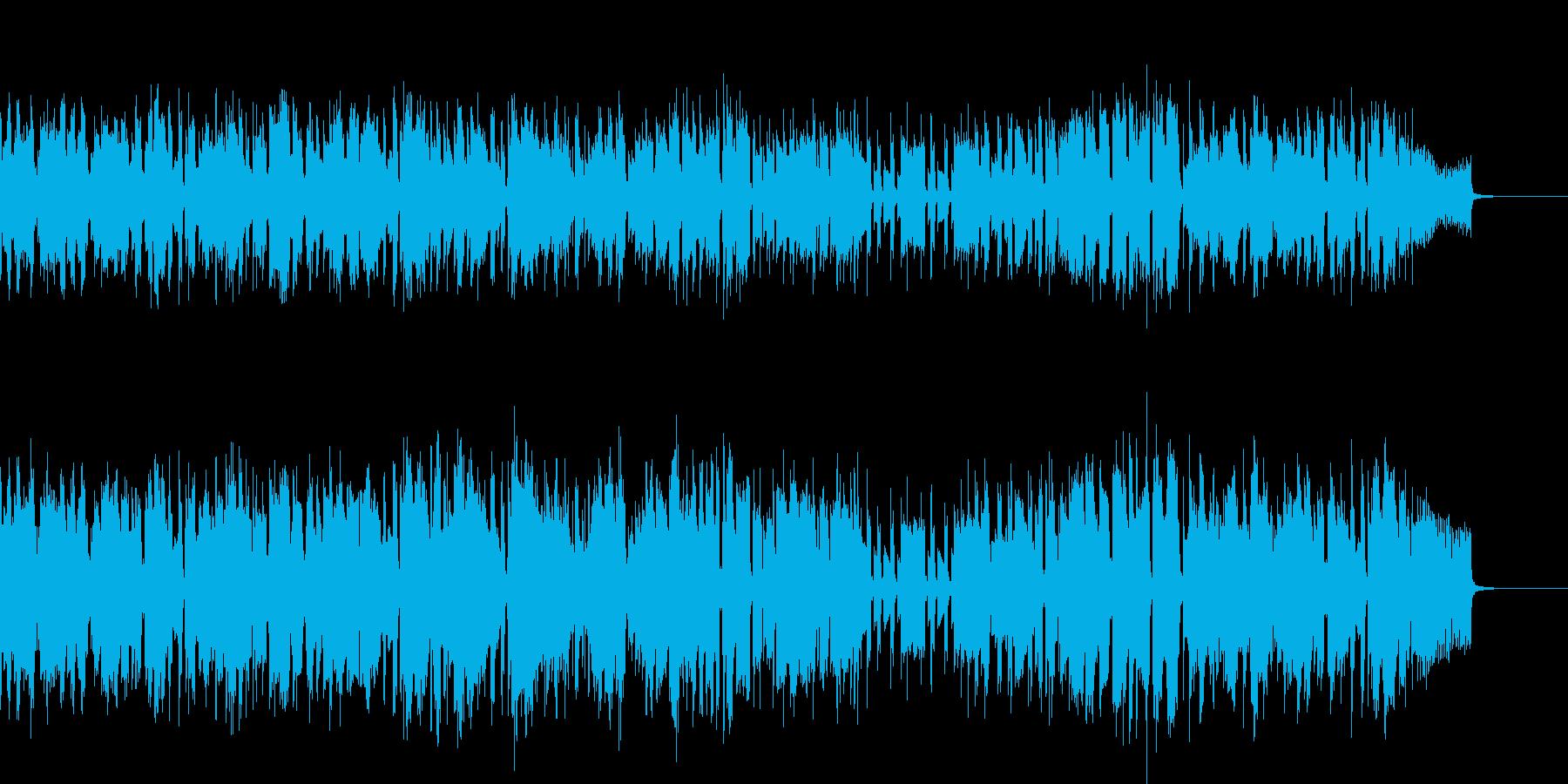 フルートとギターだけの気怠いボサノバの再生済みの波形